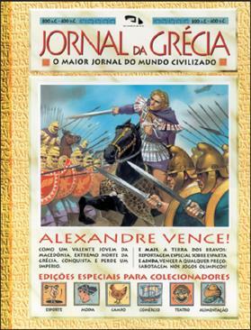 Livro Jornal da Grécia
