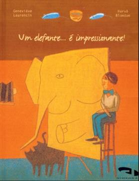 Livro Um elefante... é impressionante!