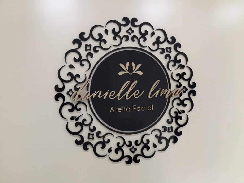 Mandala Acrílico Preto - Foto 1