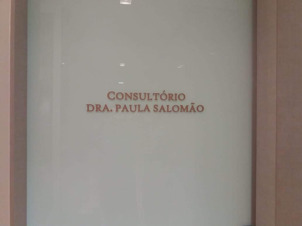Letreiro Rosa e Preto em PVC - Foto 3