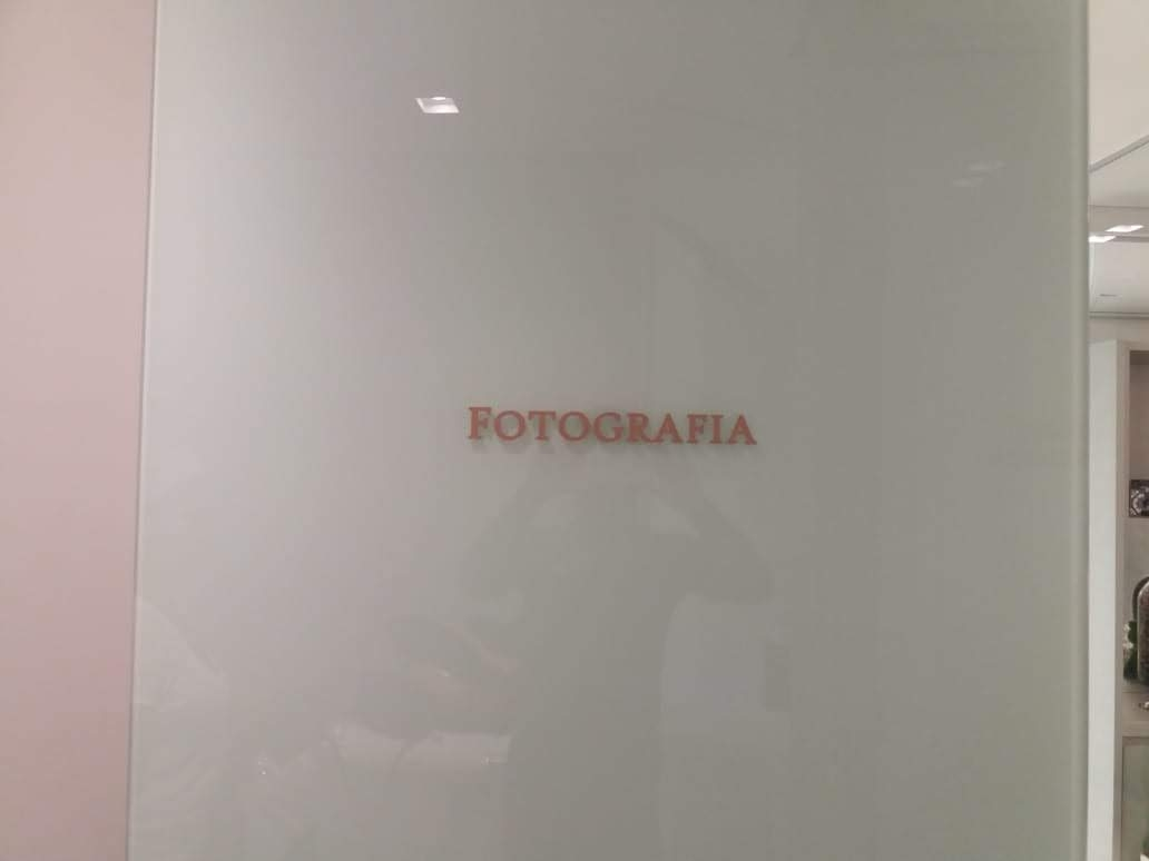 Letreiro Rosa e Preto em PVC - Foto 5