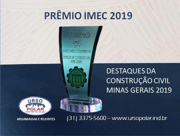 PRÊMIO IMEC 2019