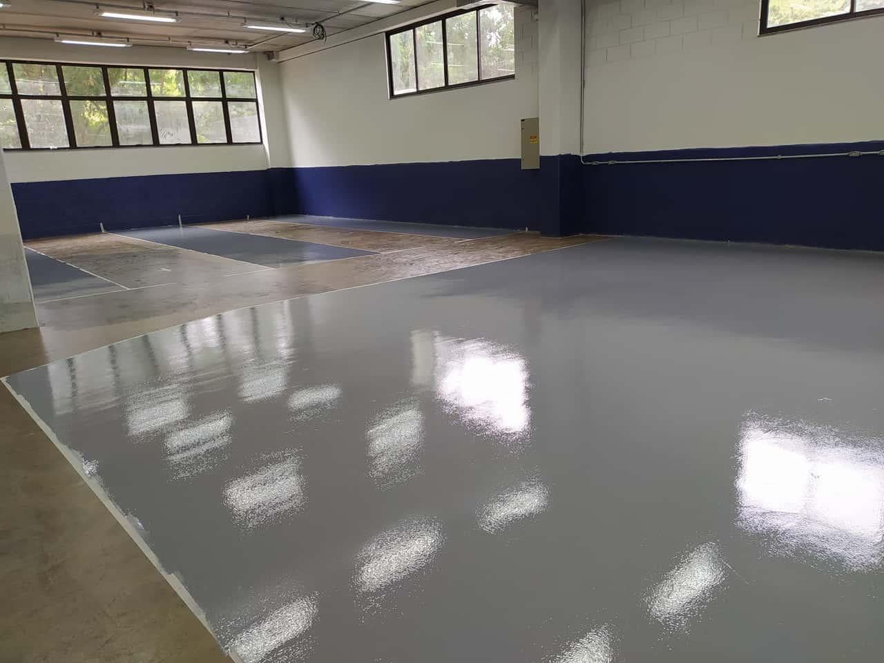 Pintura e demarcação de piso - Foto 2