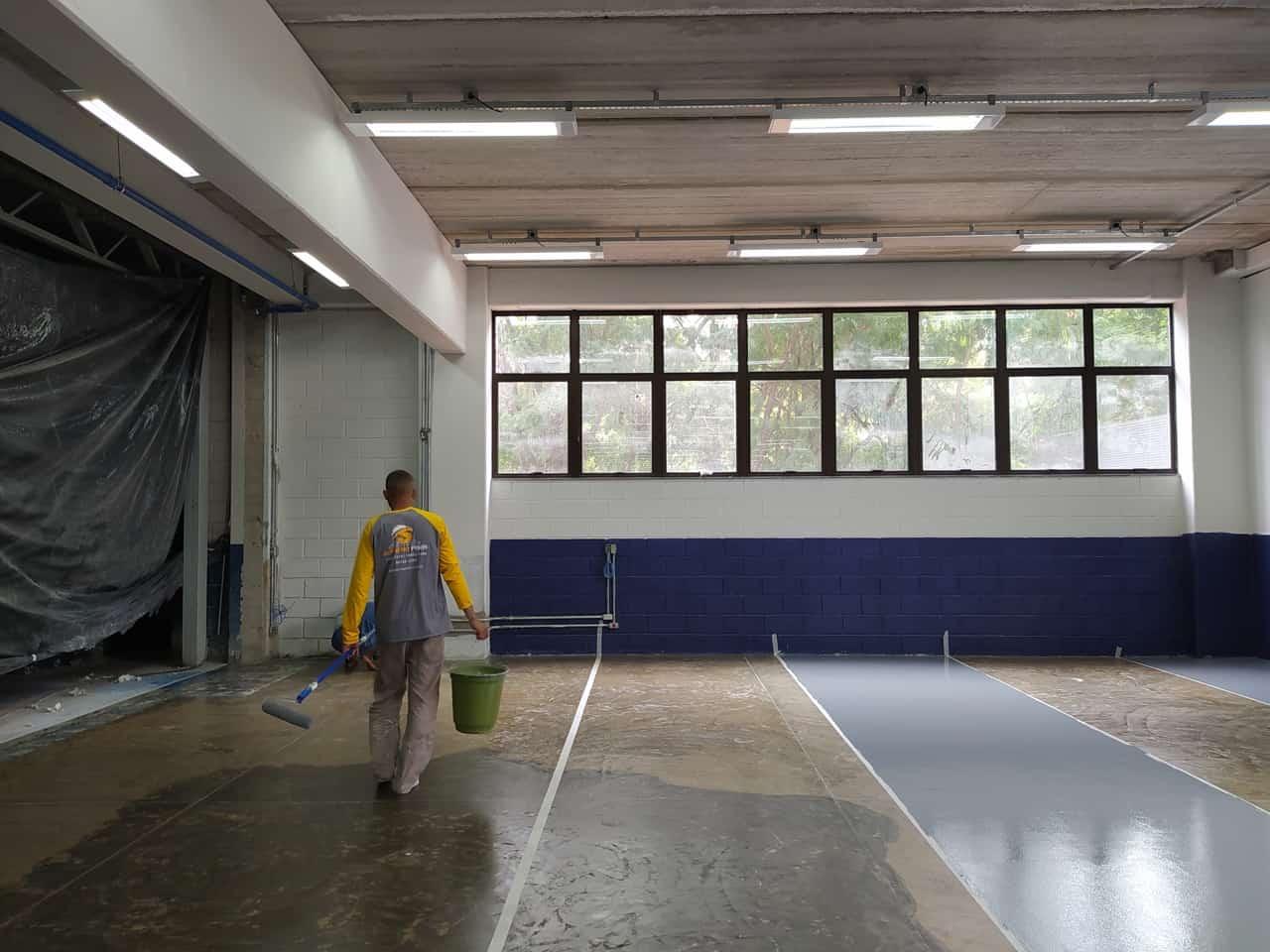 Pintura e demarcação de piso - Foto 1