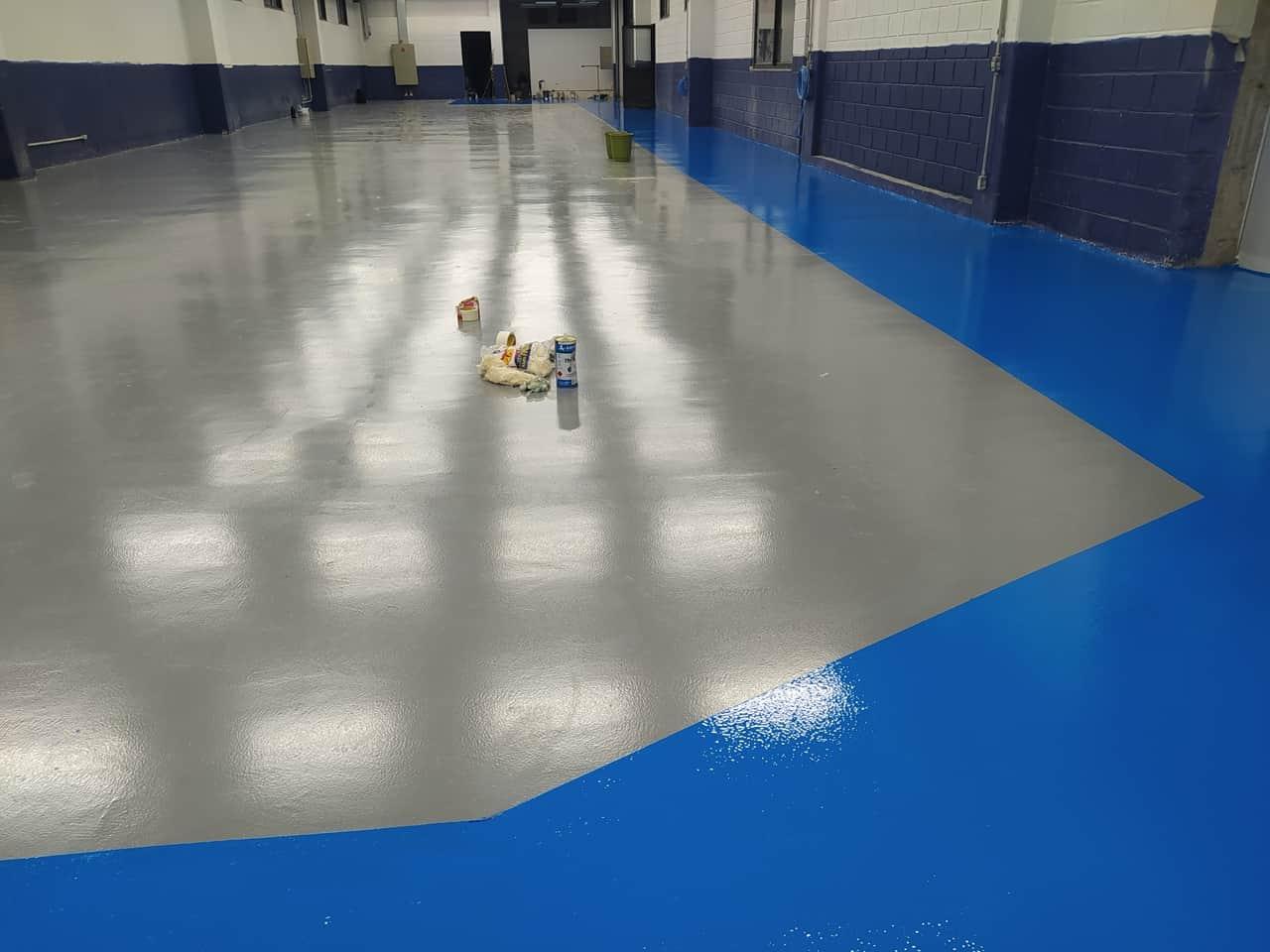 Pintura e demarcação de piso - Foto 4