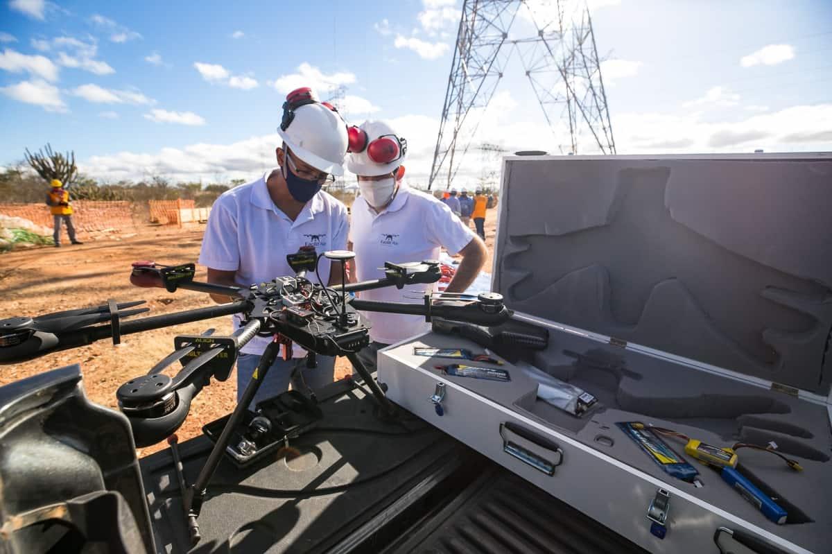 Lançamento de Cabos com Drones - Foto 4