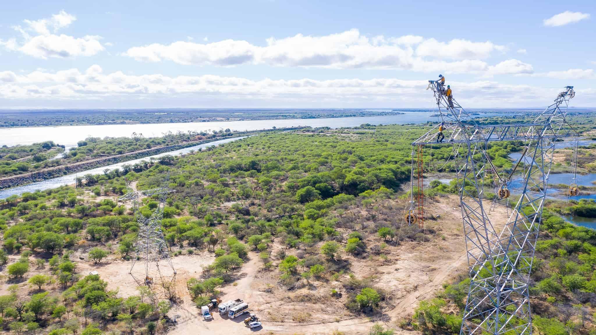 Lançamento de Cabos com Drones - Foto 6