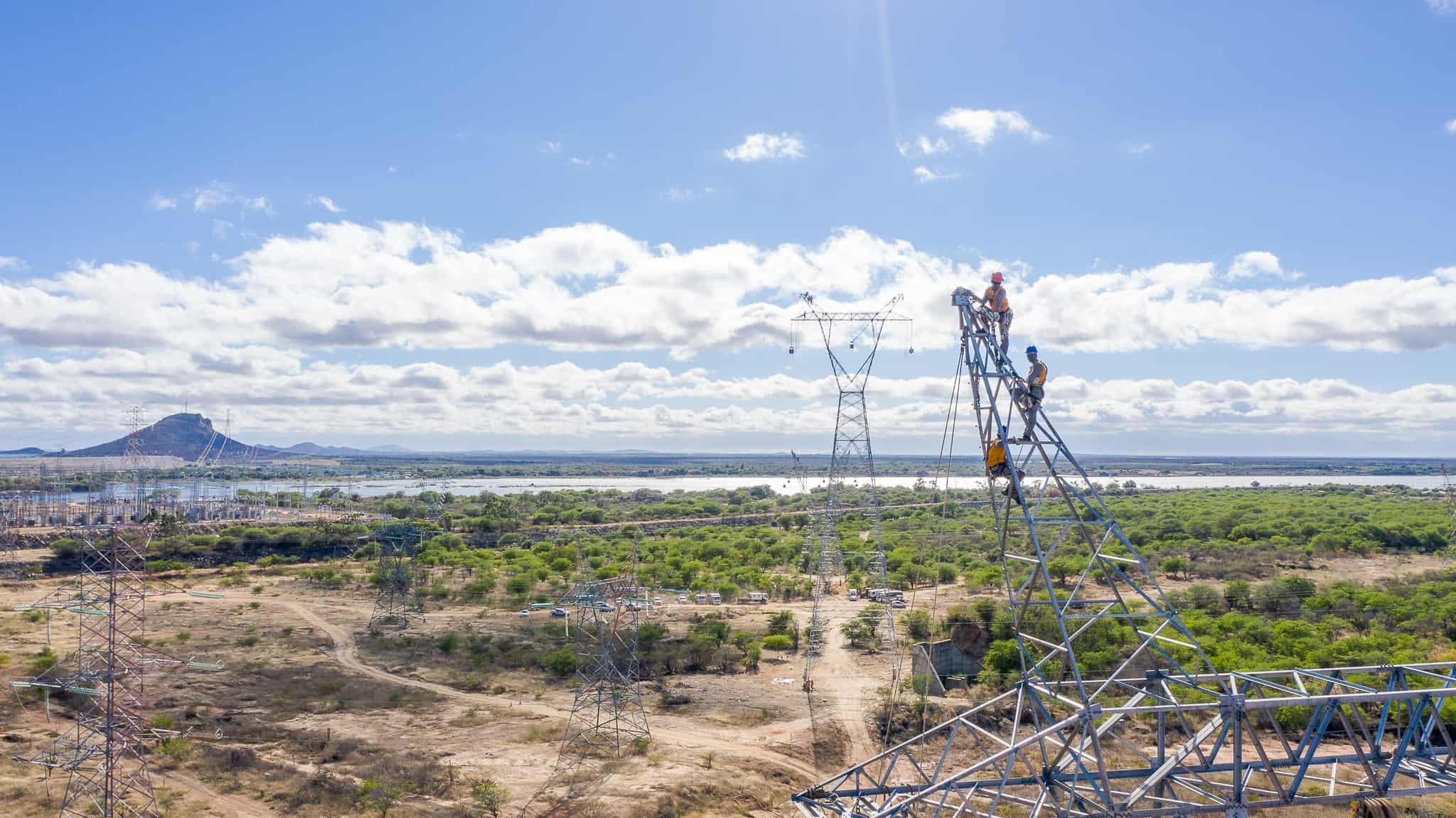 Lançamento de Cabos com Drones - Foto 8