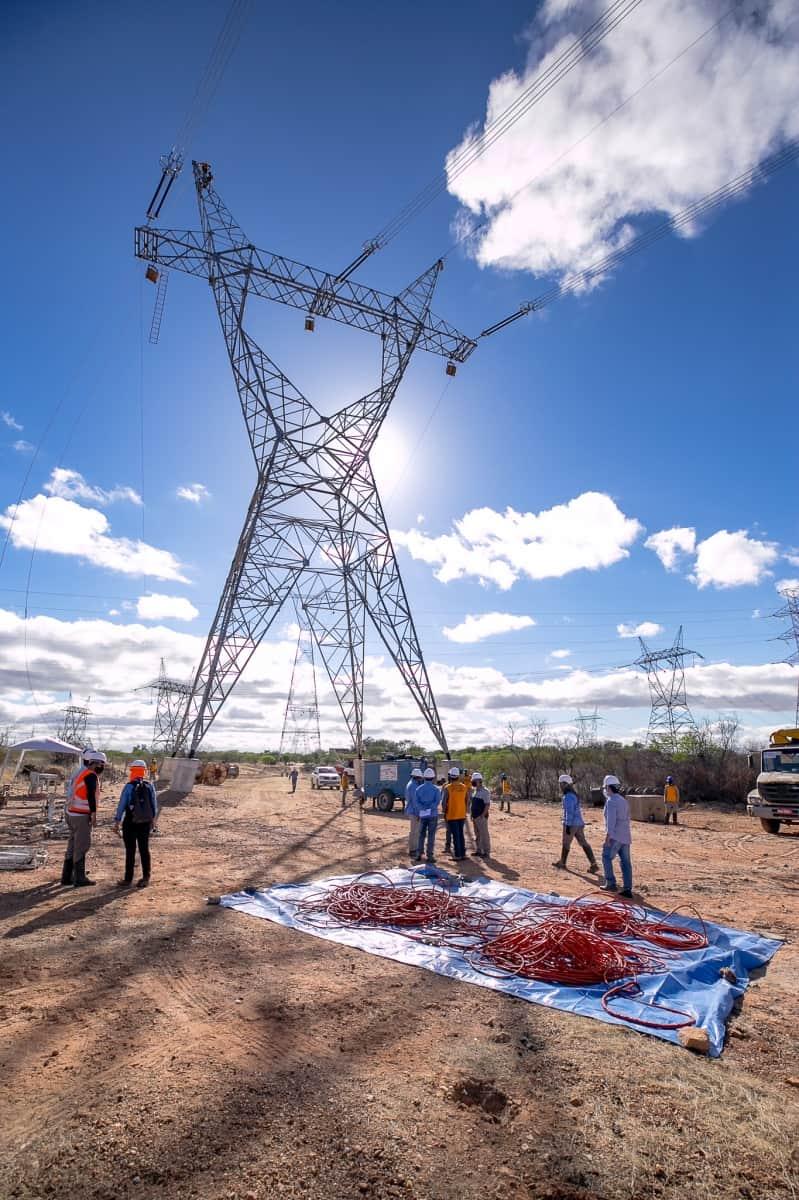Lançamento de Cabos com Drones - Foto 9