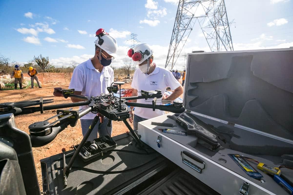 Lançamento de Cabos com Drones - Foto 12