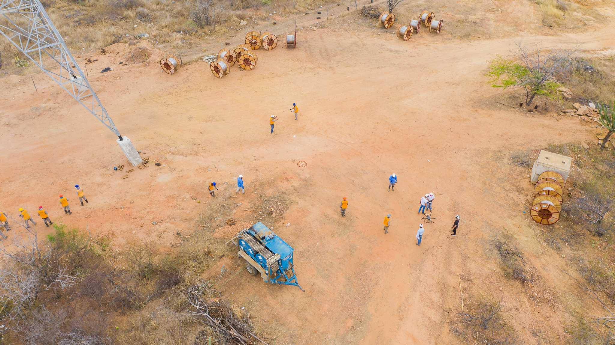 Lançamento de Cabos com Drones - Foto 15