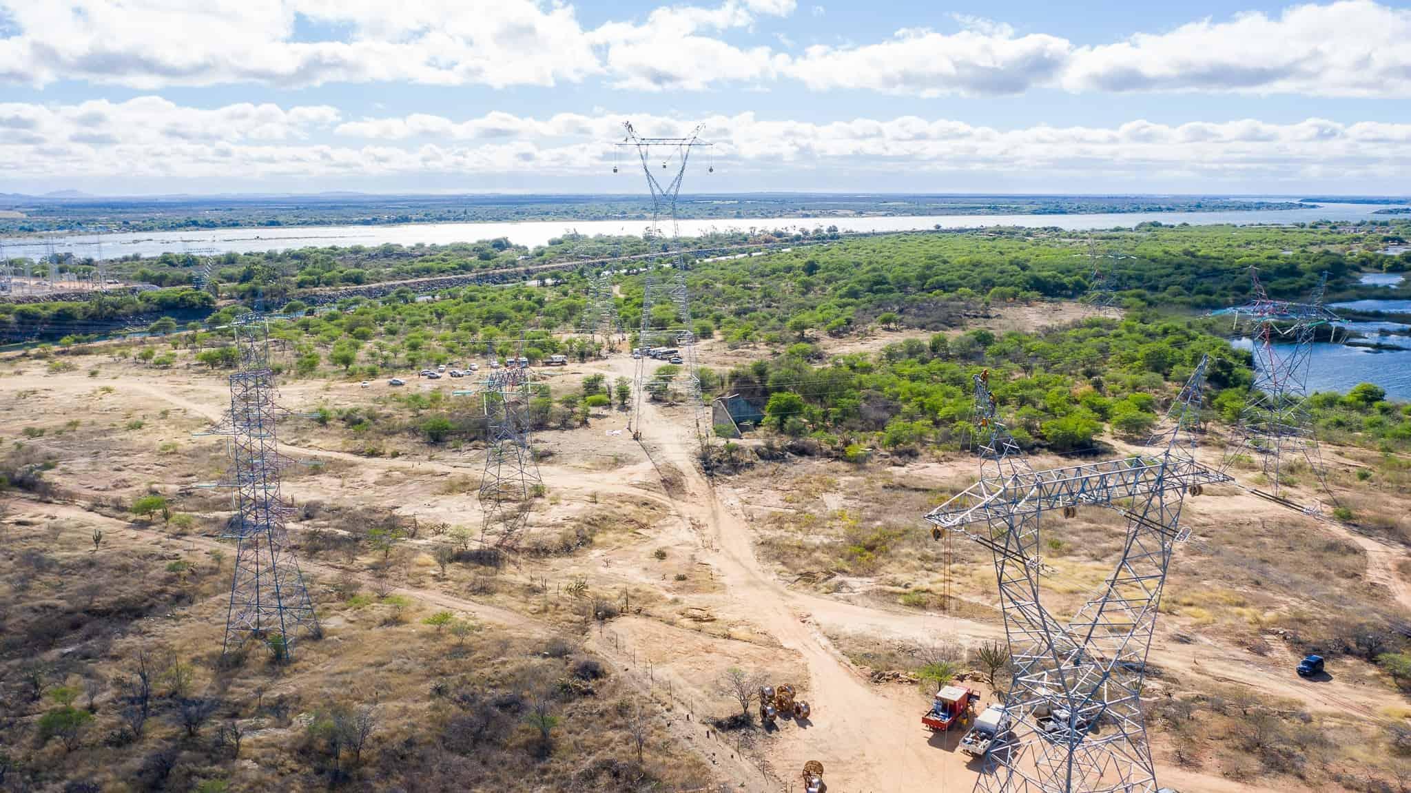 Lançamento de Cabos com Drones - Foto 16