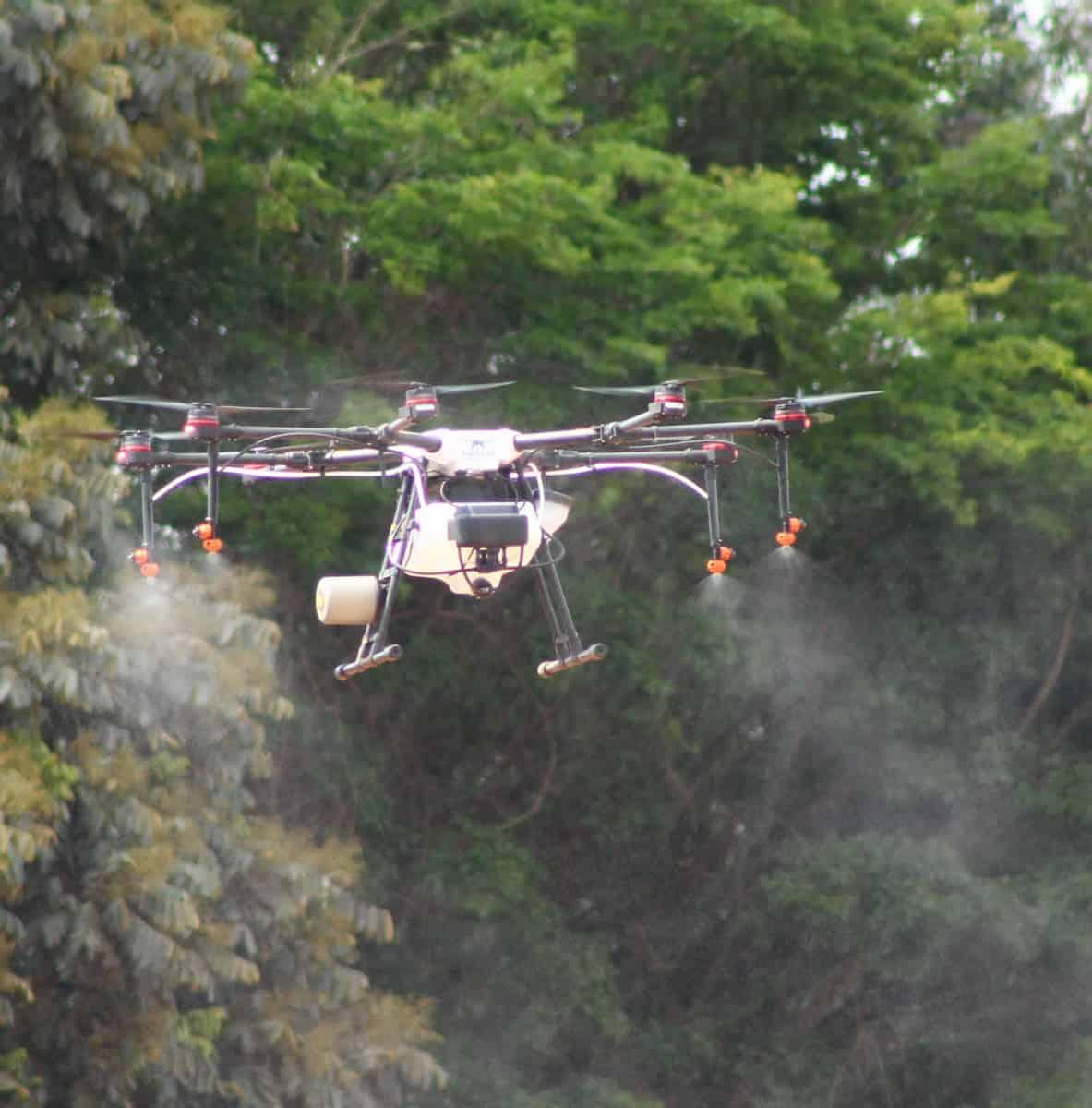 Pulverização de Lavouras com Drones - Foto 1