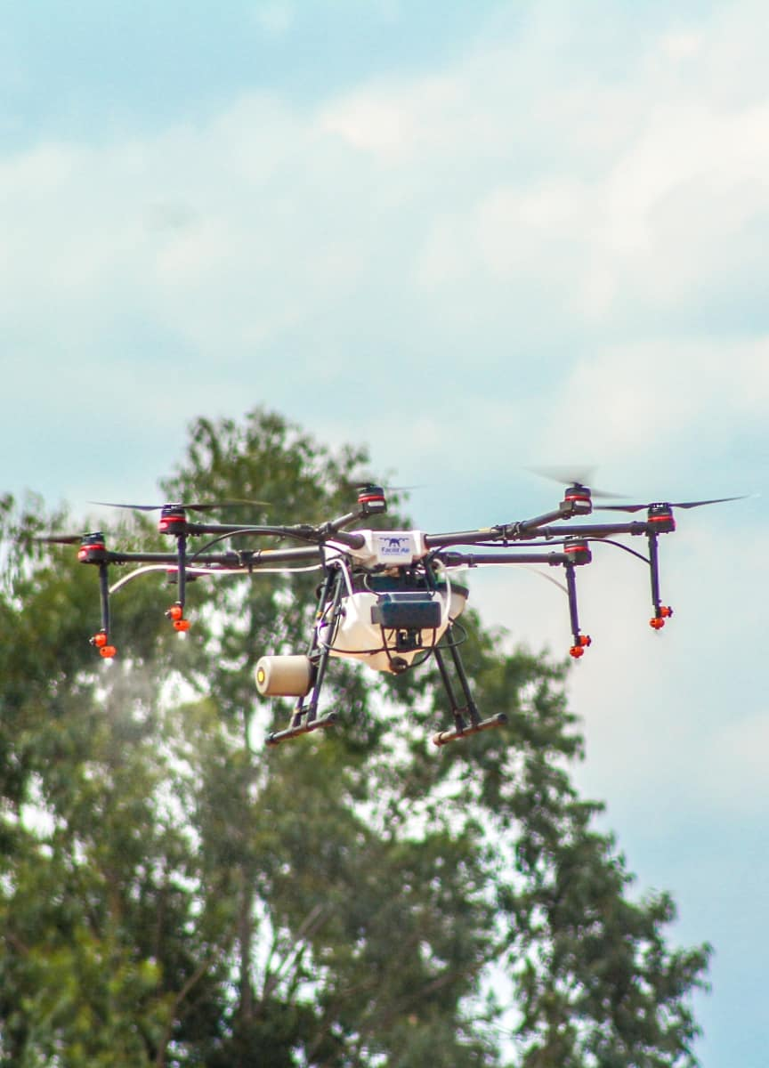 Pulverização de Lavouras com Drones - Foto 2