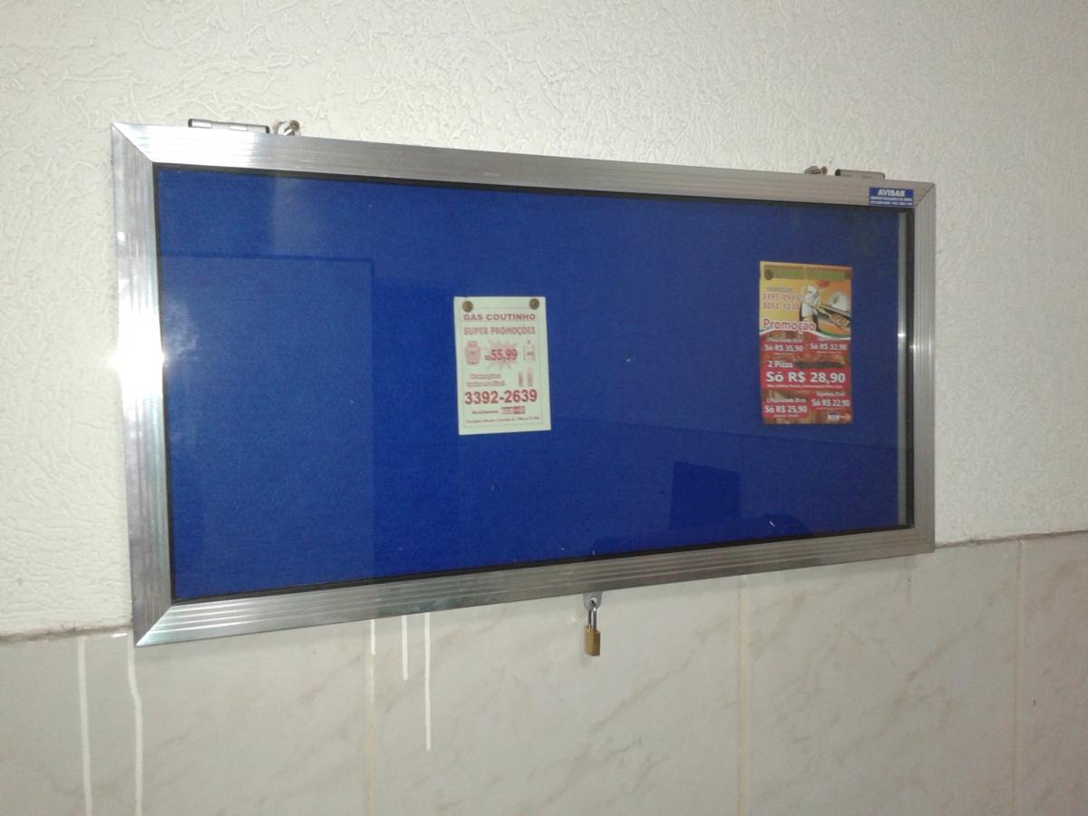quadro de avisos para condominio