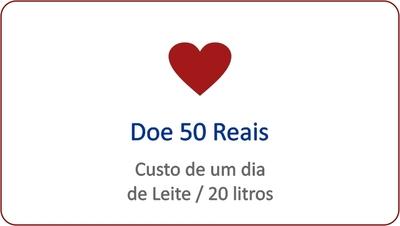 Doe 50 Reais - Foto 1