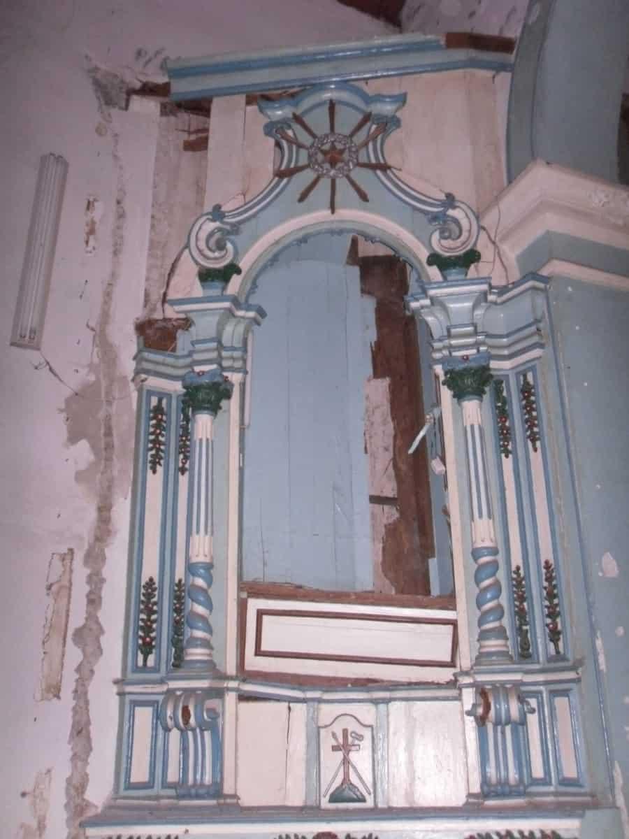 altar lateral esquerdo, Igreja S Francisco