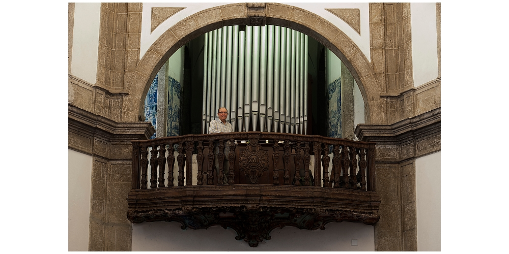 Coro da Igreja da Gloria do Outeiro - Depois