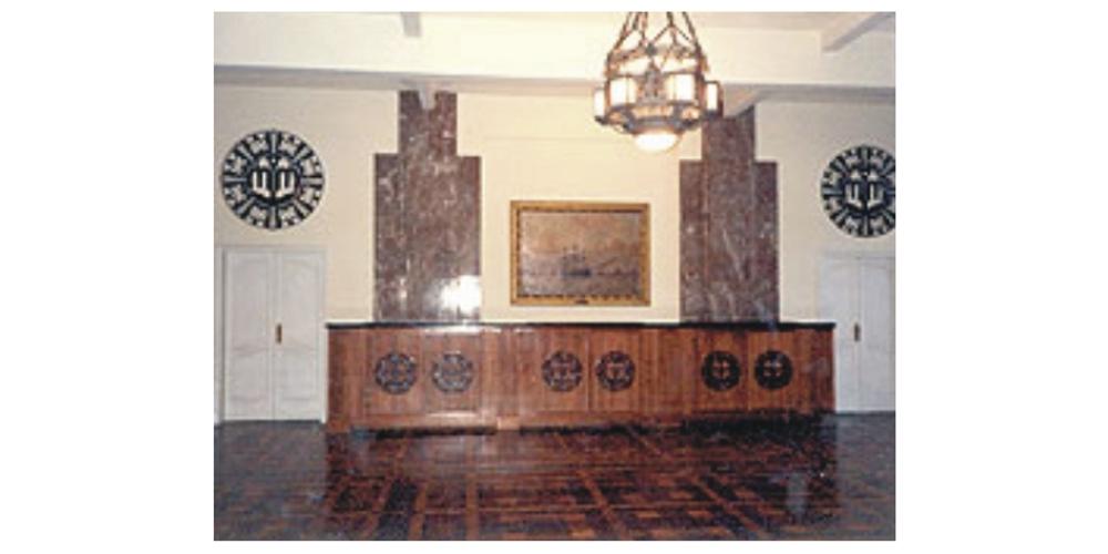Sala do Ministro da Marinha no RJ