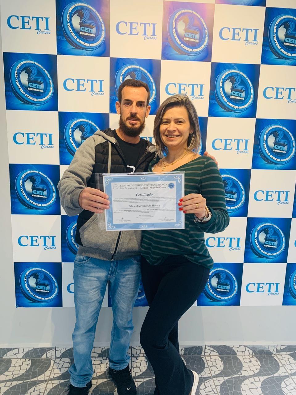 Certificado - EDSON APARECIDO DE MORAES