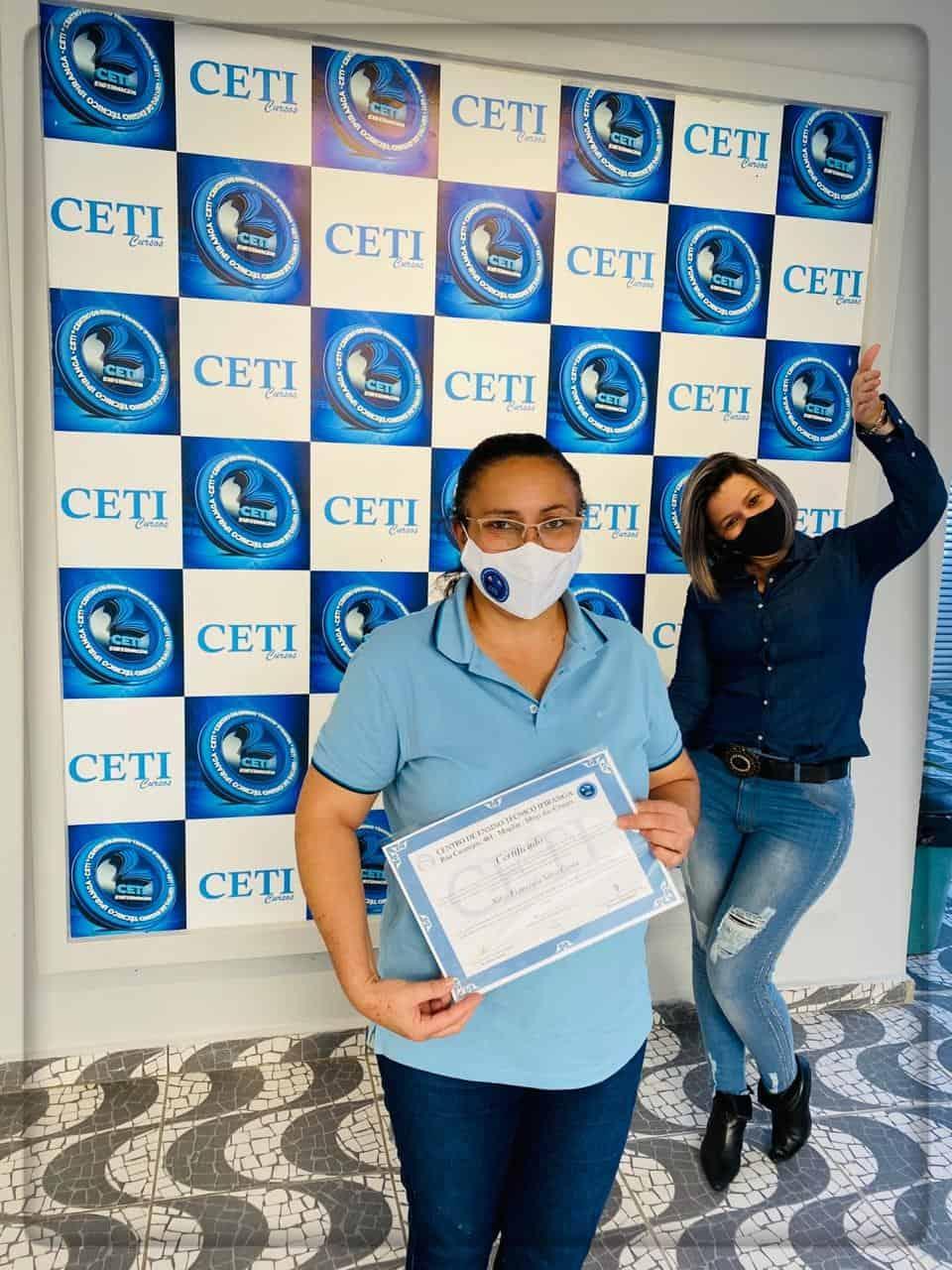 Certificado - NILZA FRANCISCA SILVA COSTA