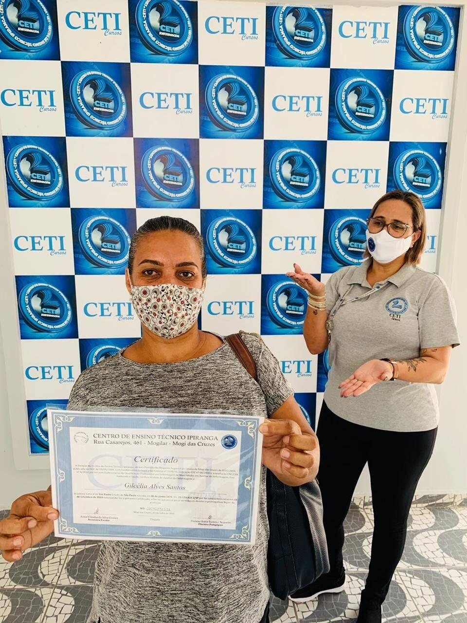 Certificado - GILCELIA ALVES SANTOS