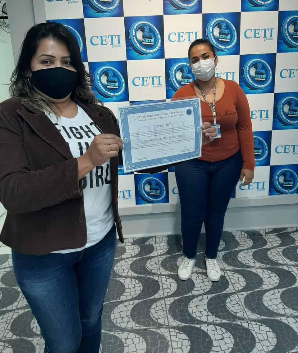 Certificado - INÊS CRISTINA DA SILVA LIMA