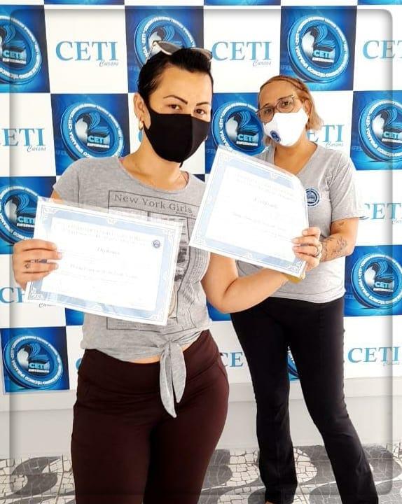 Certificado + Diploma - MARIA PATRICIA