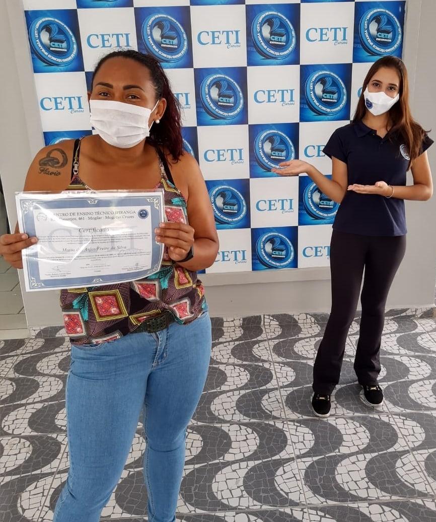 Certificado - MARIA DOS ANJOS F. DA SILVA