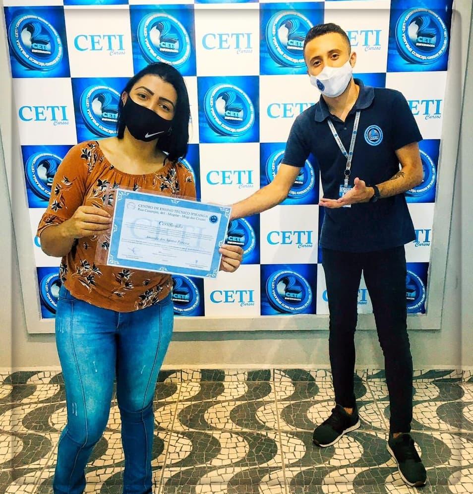 Certificado - AMANDA DOS SANTOS PEREIRA