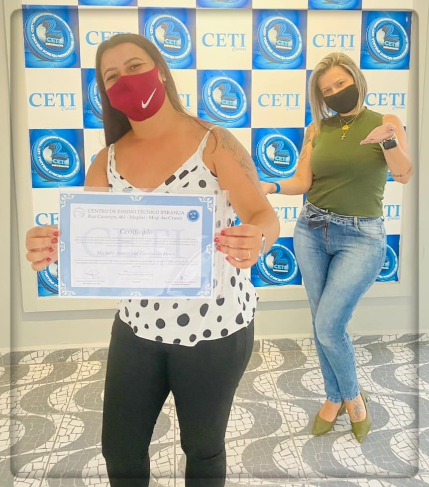 Certificado - MICHELE A. CORREA DA HORA