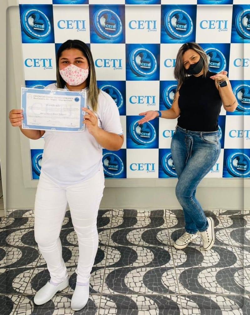 Certificado - MARIA ALICE CHAGAS SAMPAIO