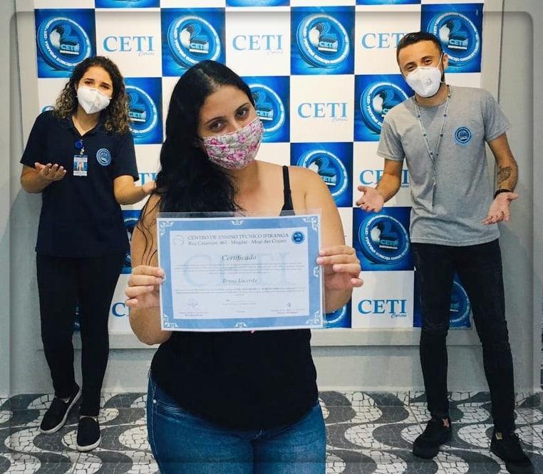 Certificado - BRUNA LACERDA