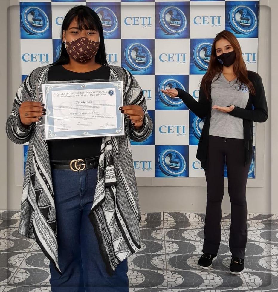 Certificado - STEFANY FAUSTINO DE SOUSA
