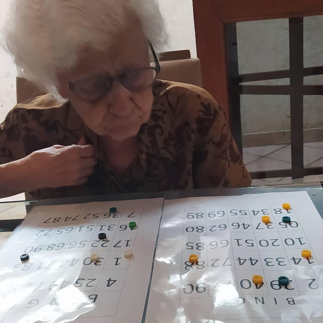 Bingo Com cartela adaptada
