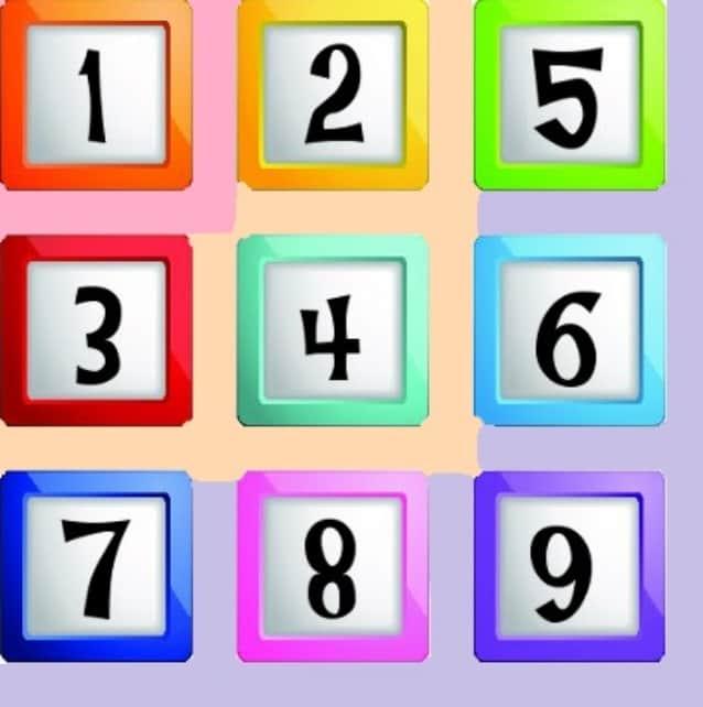 Os três aspectos dos números de 1 a 9 - Fe Fávier