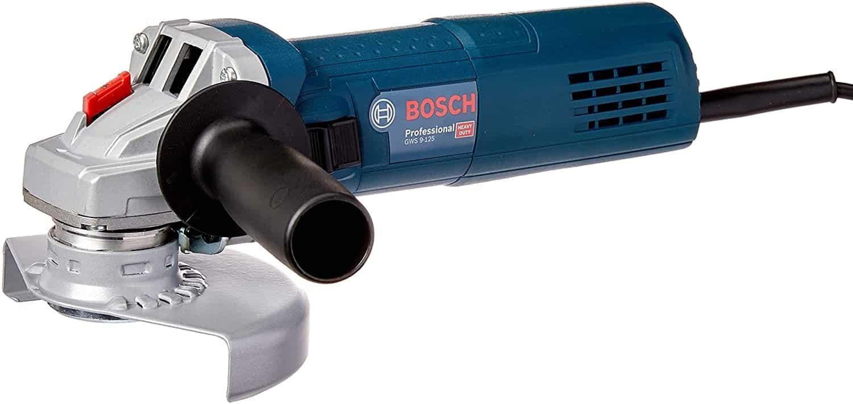 Esmeriladeira Bosch Angular GWS 9-125 Profissional - Foto 3
