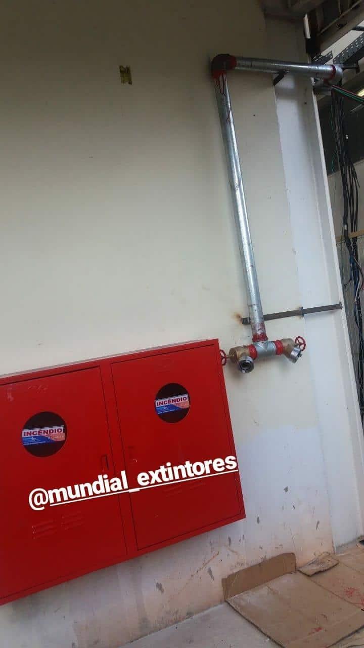 INSTALAÇÃO DE HIDRANTE