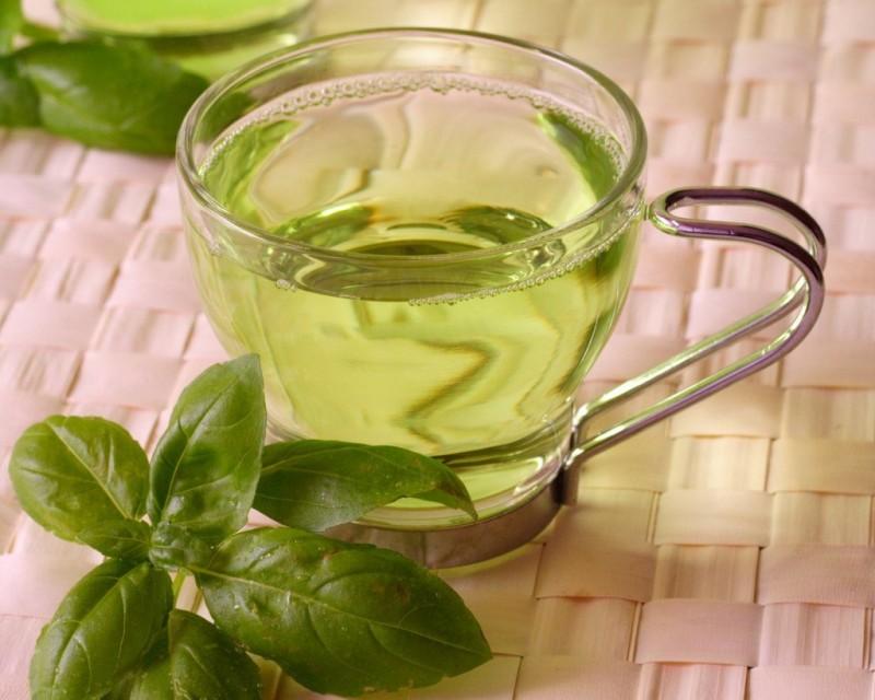 Chá verde e efeito fotopr