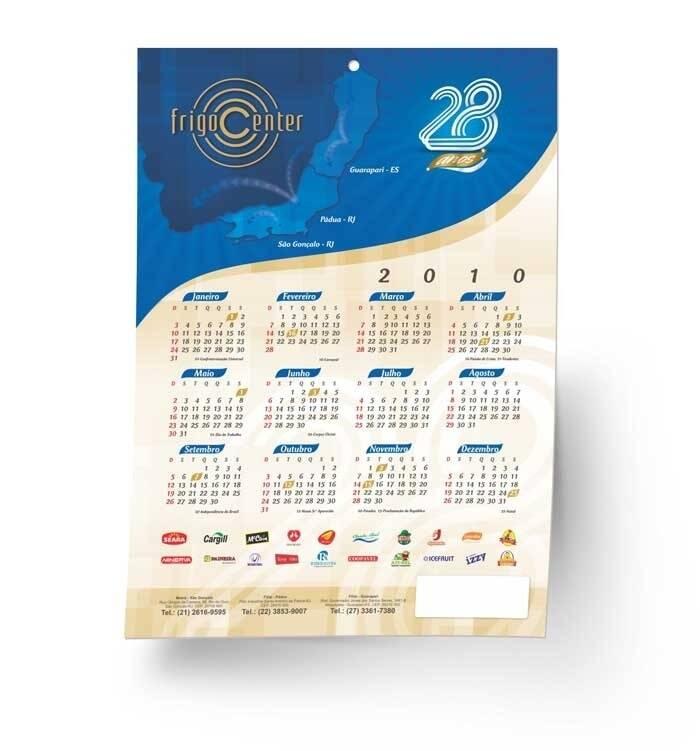 Calendários - Foto 2