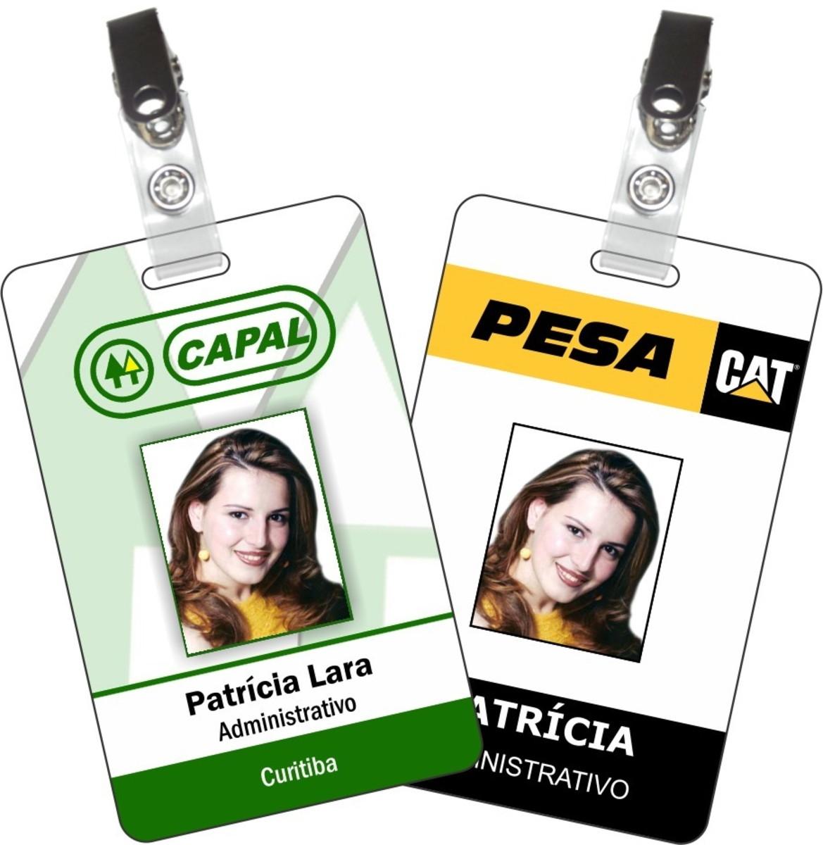 Crachás (PVC e Papel) - Foto 7