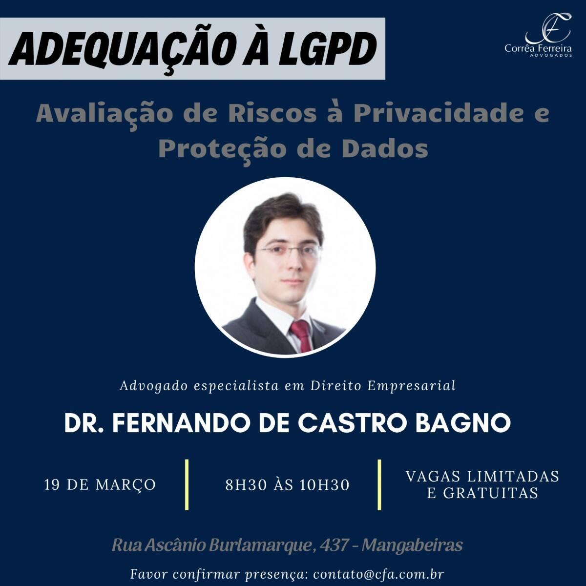 Evento - Adequação à LGPD