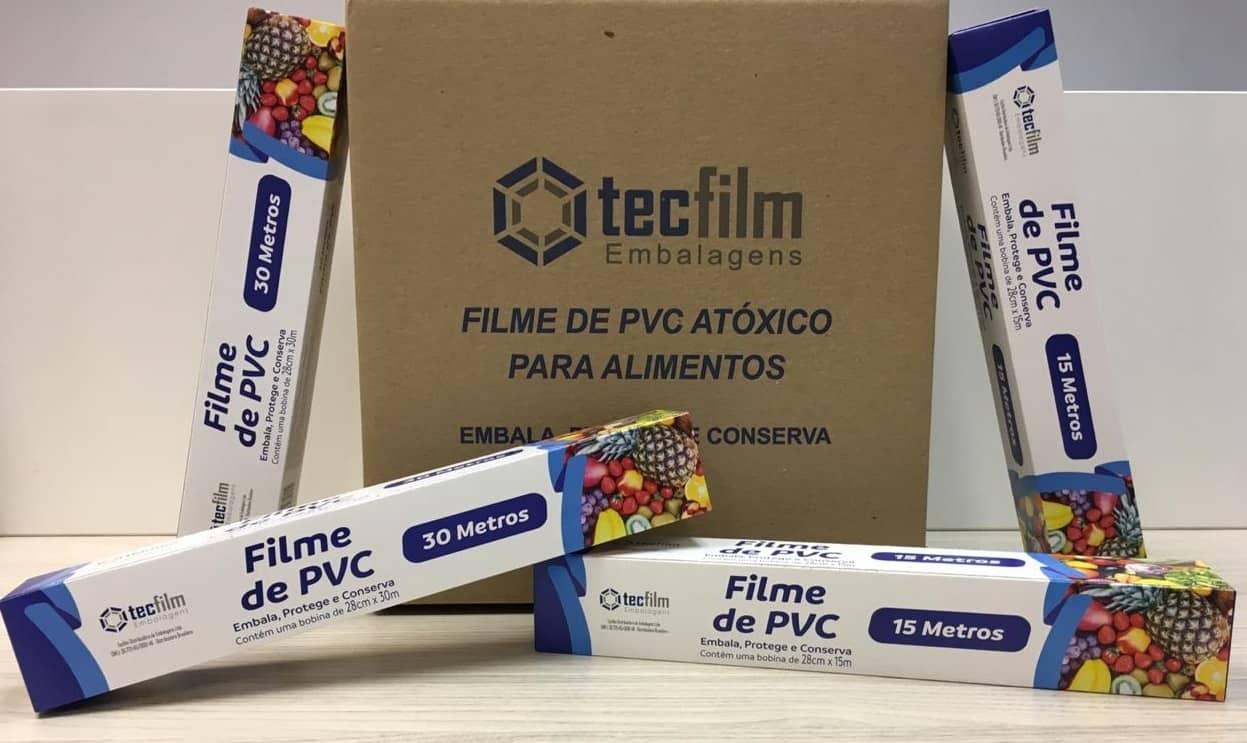 FILME PVC ESTICÁVEL - Foto 1
