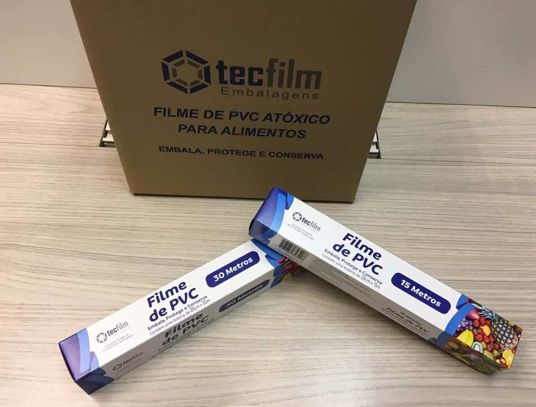 FILME PVC ESTICÁVEL - Foto 2