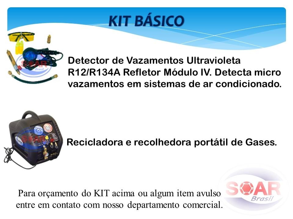 KITS DE INSTALAÇÃO E MANUTENÇÃO DE AR CONDICIONADO - Foto 4