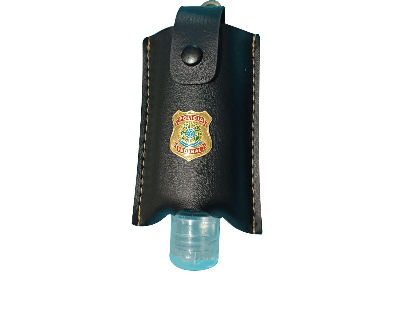 PF-001 PORTA ALCOOL GEL 60 ML C/MOSQUETE - Foto 1