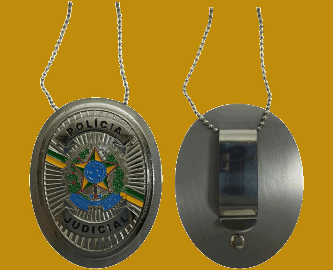 DISTINTIVO POLÍCIA JUDICIAL - Foto 2