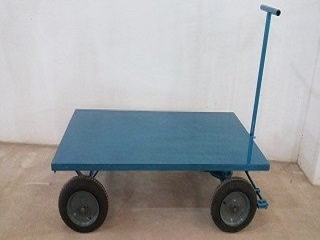 Carrinho Plataforma tipo 5ª Roda - Foto 2