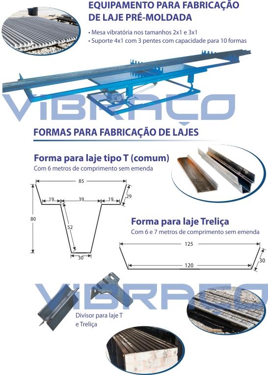 Equipamento e Formas para Fabricação de Lajes - Foto 7