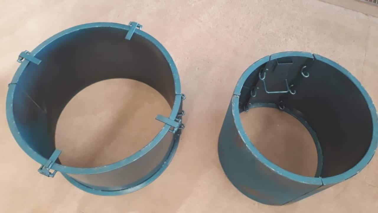 Forma Metálica para Anel de Poço - Foto 6